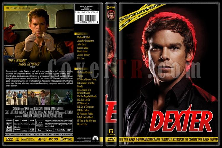 Dexter (Seasons 1-8) - Custom Dvd Cover Set - English [2006 - 2013]-6jpg