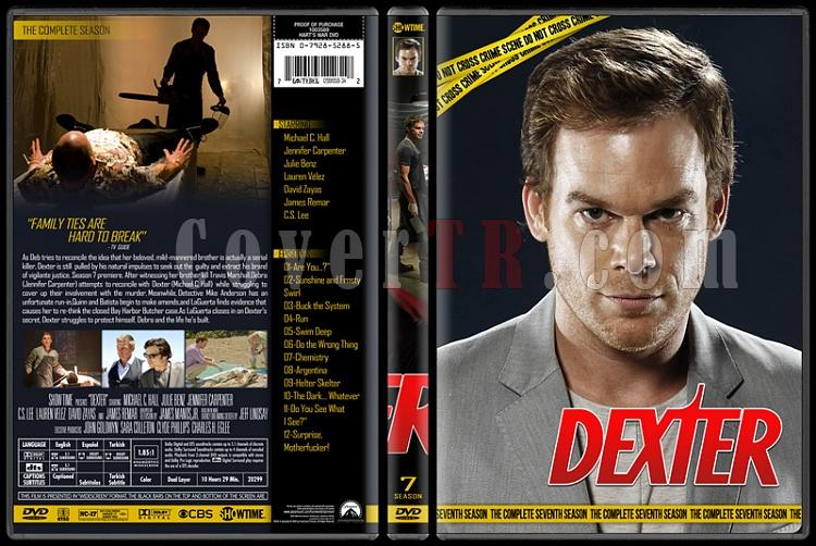 Dexter (Seasons 1-8) - Custom Dvd Cover Set - English [2006 - 2013]-7jpg