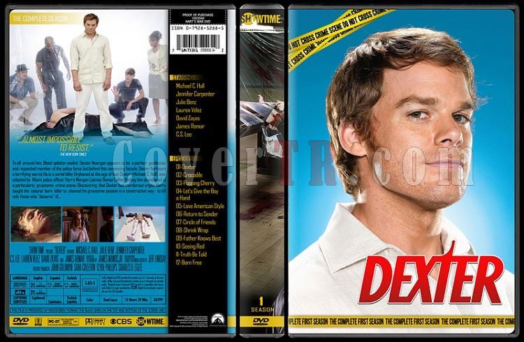 Dexter (Seasons 1-8) - Custom Dvd Cover Set - English [2006 - ? ]-1jpg