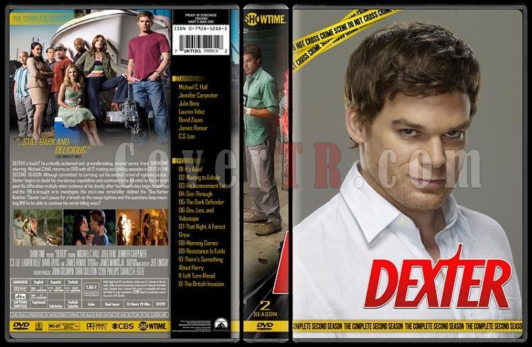 Dexter (Seasons 1-8) - Custom Dvd Cover Set - English [2006 - ? ]-2jpg