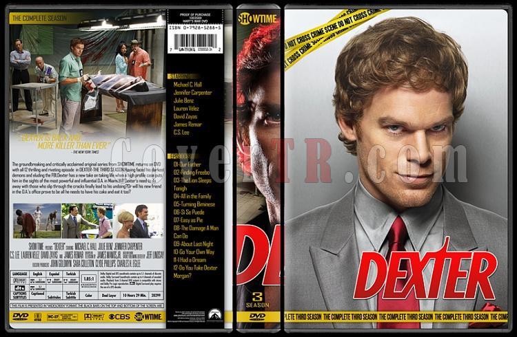 Dexter (Seasons 1-8) - Custom Dvd Cover Set - English [2006 - ? ]-3jpg