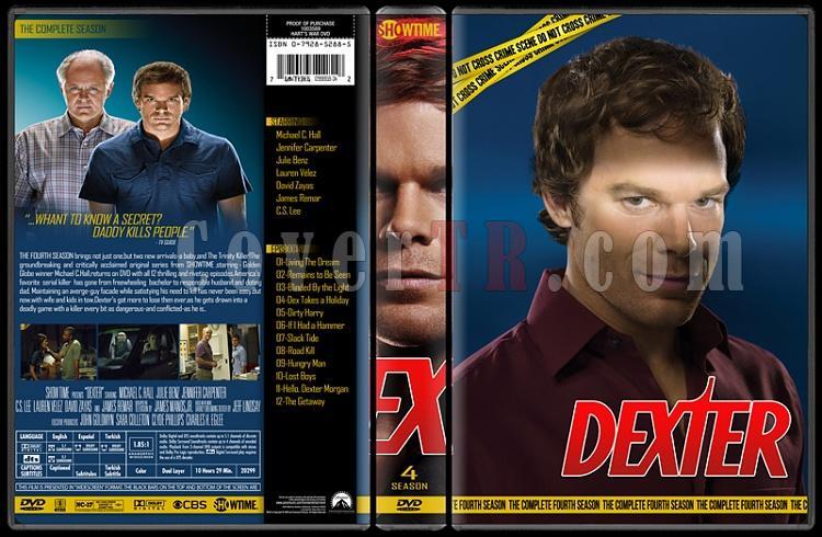 Dexter (Seasons 1-8) - Custom Dvd Cover Set - English [2006 - ? ]-4jpg