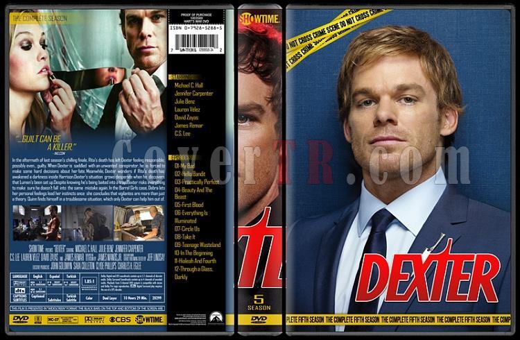 Dexter (Seasons 1-8) - Custom Dvd Cover Set - English [2006 - ? ]-5jpg