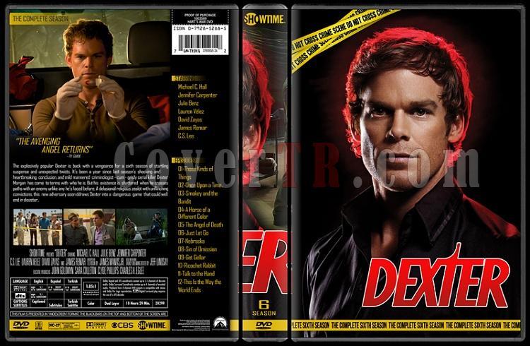 Dexter (Seasons 1-8) - Custom Dvd Cover Set - English [2006 - ? ]-6jpg