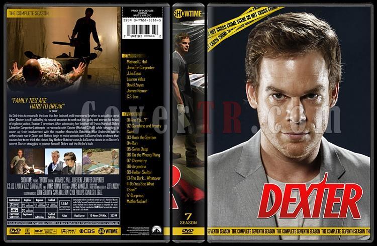 Dexter (Seasons 1-8) - Custom Dvd Cover Set - English [2006 - ? ]-7jpg