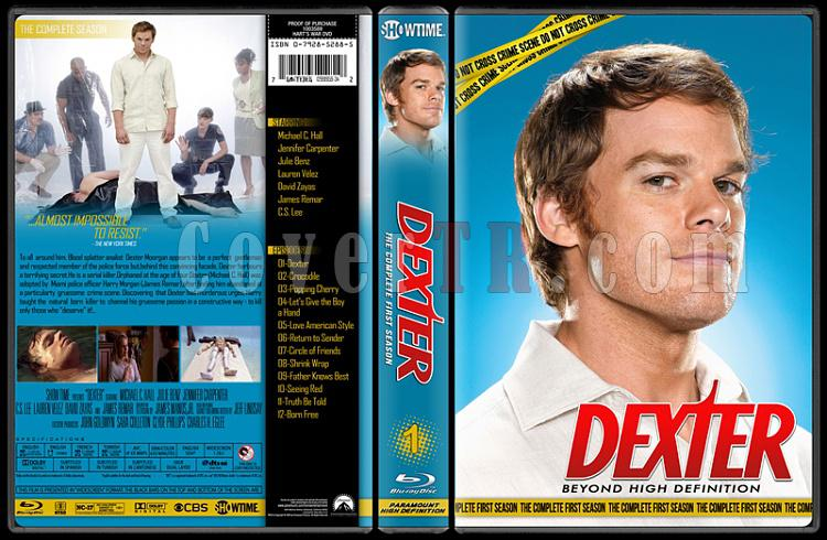 Dexter (Seasons 1-8) - Custom Bluray Cover Set - English [2006 - ? ]-1jpg