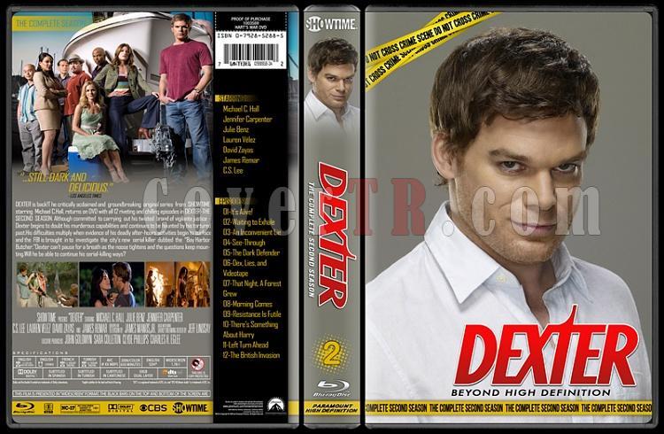 Dexter (Seasons 1-8) - Custom Bluray Cover Set - English [2006 - ? ]-2jpg