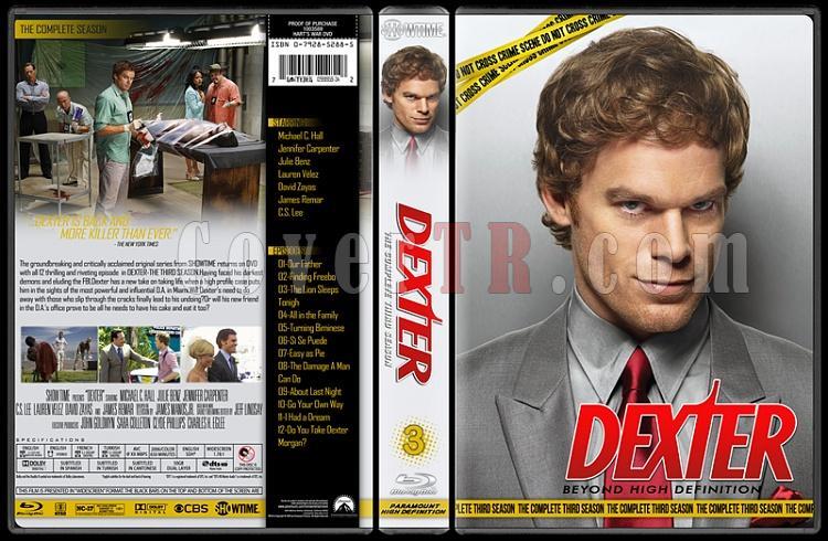Dexter (Seasons 1-8) - Custom Bluray Cover Set - English [2006 - ? ]-3jpg