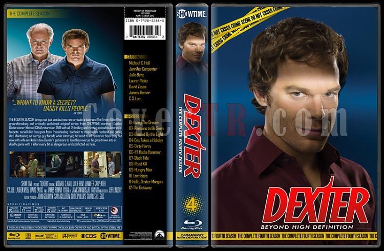 Dexter (Seasons 1-8) - Custom Bluray Cover Set - English [2006 - ? ]-4jpg