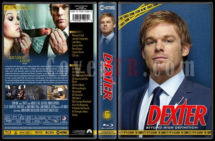 Dexter (Seasons 1-8) - Custom Bluray Cover Set - English [2006 - ? ]-5jpg