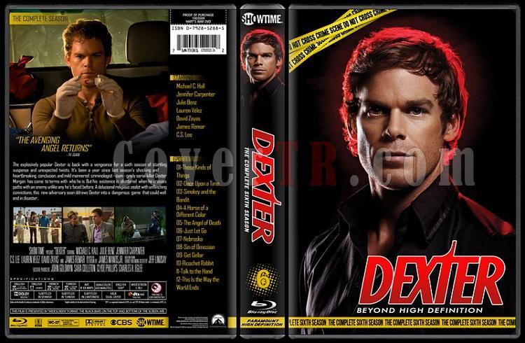 Dexter (Seasons 1-8) - Custom Bluray Cover Set - English [2006 - ? ]-6jpg