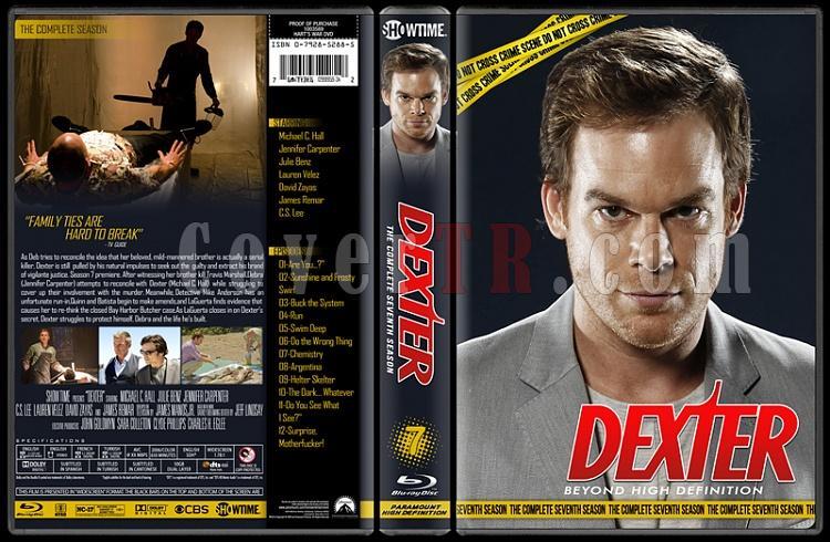 Dexter (Seasons 1-8) - Custom Bluray Cover Set - English [2006 - ? ]-7jpg