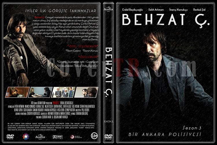 Behzat Ç.  - Custom Dvd Cover Set - Türkçe [2010-2013]-3jpg