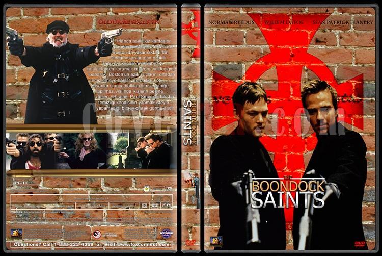 The Boondock Saints (Şehrin Azizleri) - Custom Dvd Cover Set - Türkçe [1999-2009]-01jpg