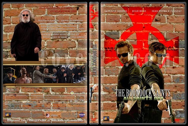 The Boondock Saints (Şehrin Azizleri) - Custom Dvd Cover Set - Türkçe [1999-2009]-002jpg