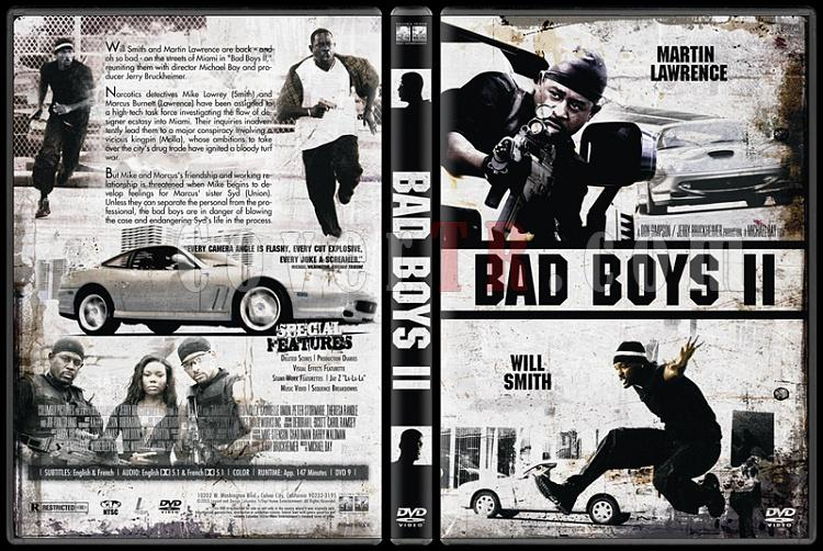 Bad Boys Collection (Çılgın İkili Koleksiyonu) - Custom Dvd Cover Set - English [1995-2003]-2jpg