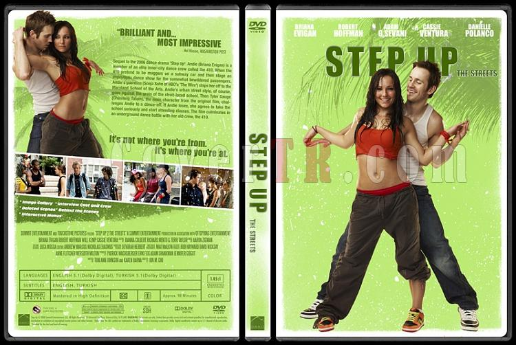 Step Up Collection - Custom Dvd Cover Set - English [2006-2012]-2jpg