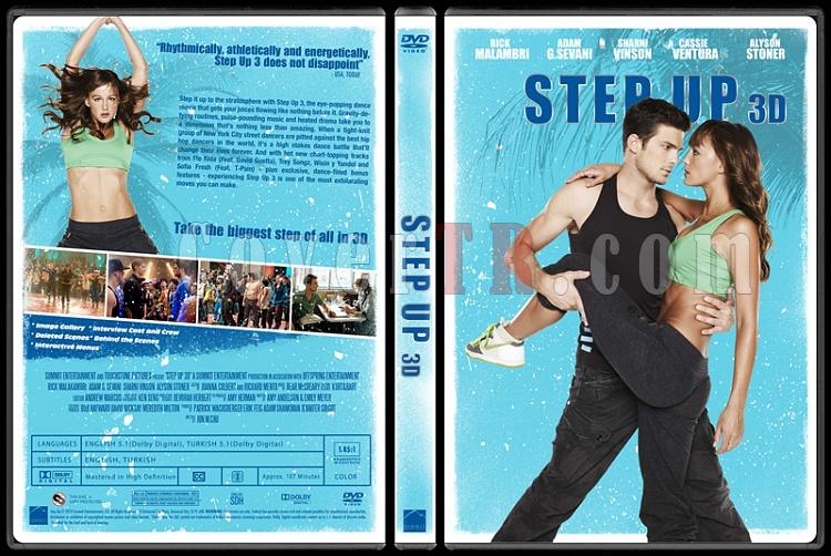 Step Up Collection - Custom Dvd Cover Set - English [2006-2012]-3jpg