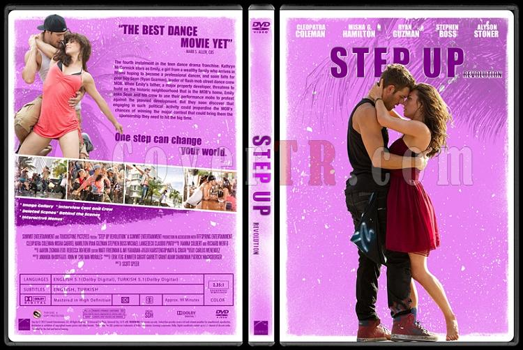 Step Up Collection - Custom Dvd Cover Set - English [2006-2012]-4jpg
