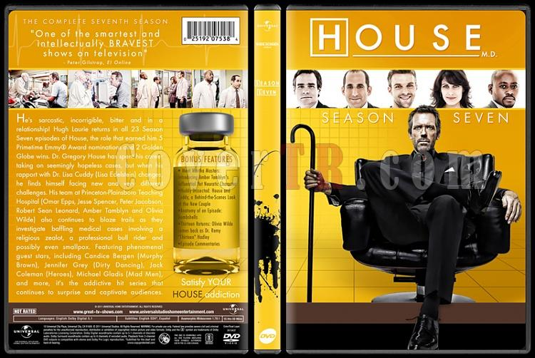 House M.D. Collection (Seasons 1-8) - Custom Dvd Cover Set - English [2004-2012]-standard7jpg