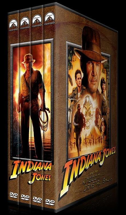Indiana Jones Collection - Custom Dvd Cover Set - English [1981-2008]-standard-4-season-flatjpg