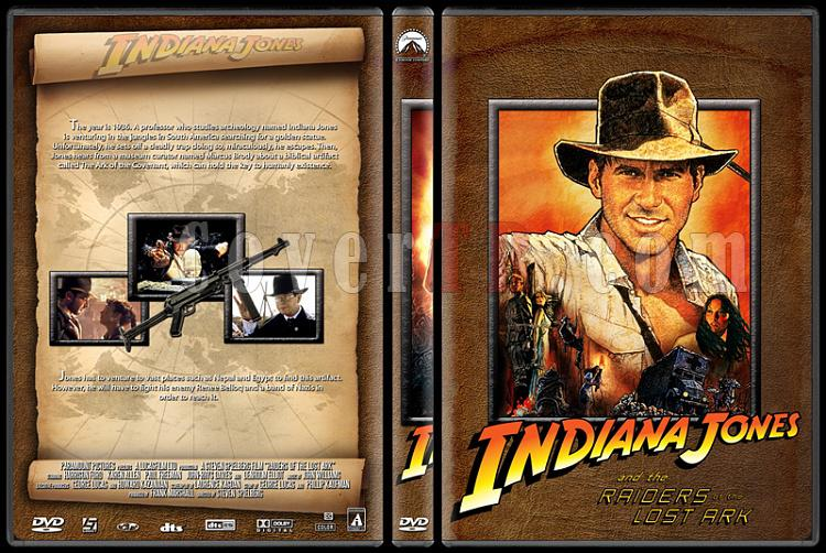 Indiana Jones Collection - Custom Dvd Cover Set - English [1981-2008]-indiana_jones_raiders_of_the_lost_arkkjpg