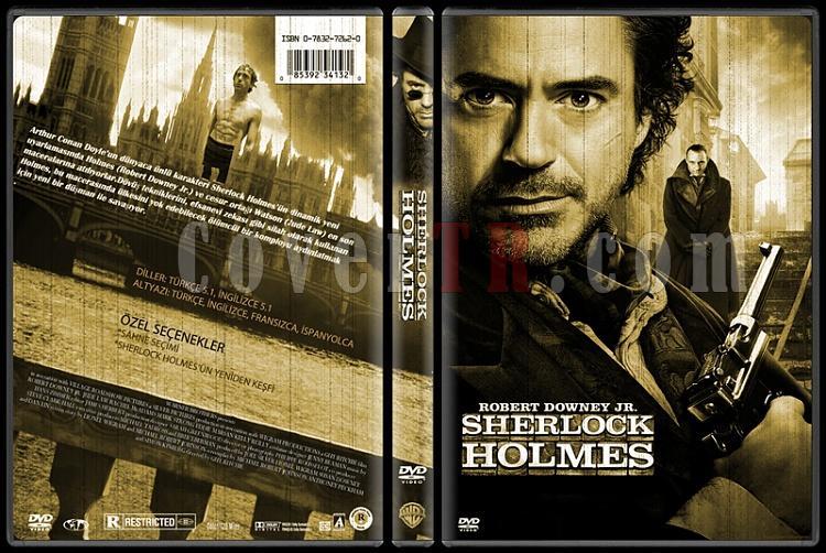 Sherlock Holmes - Custom Dvd Cover Set - Türkçe-1jpg