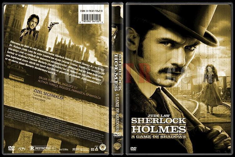 Sherlock Holmes - Custom Dvd Cover Set - Türkçe-2jpg