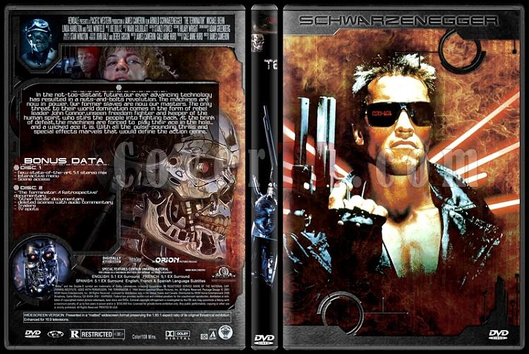 Terminator Collection - Custom Dvd Cover Set - English-1jpg