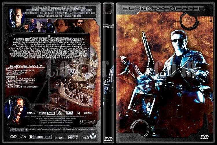 Terminator Collection - Custom Dvd Cover Set - English-2jpg