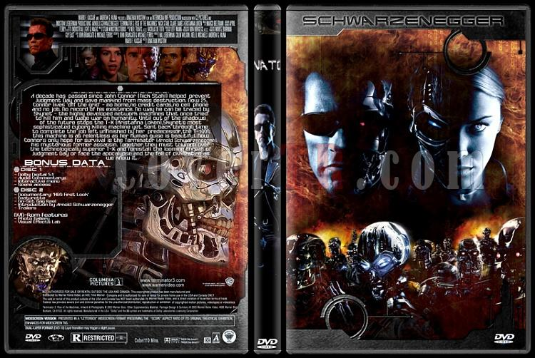 Terminator Collection - Custom Dvd Cover Set - English-3jpg