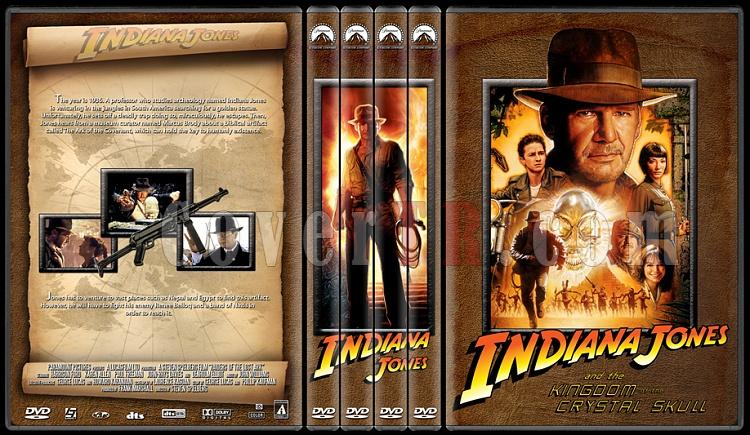 Indiana Jones Collection - Custom Dvd Cover Set - English [1981-2008]-ajpg