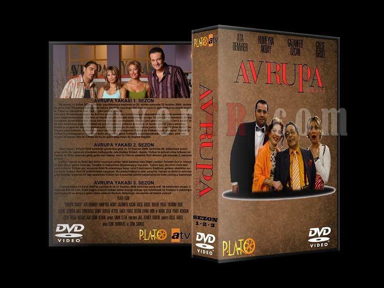 Avrupa Yakası Vol.1 - Custom Dvd Cover Set - Türkçe-1jpg