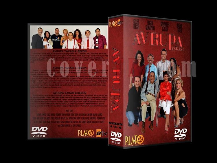 Avrupa Yakası Vol.1 - Custom Dvd Cover Set - Türkçe-2jpg