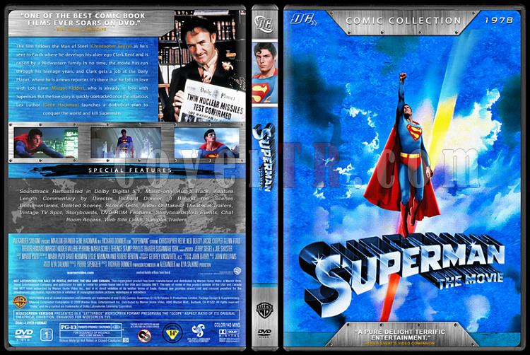 Superman Collection (Süperman Koleksiyonu) - Custom Dvd Cover Set - English [1978-2006]-2jpg