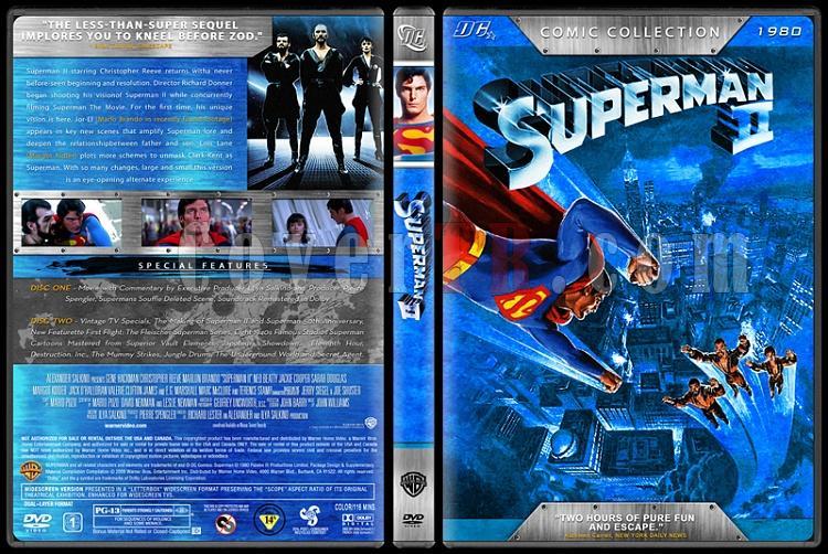 Superman Collection (Süperman Koleksiyonu) - Custom Dvd Cover Set - English [1978-2006]-3jpg