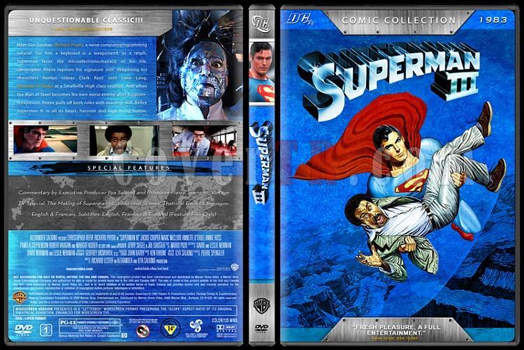 Superman Collection (Süperman Koleksiyonu) - Custom Dvd Cover Set - English [1978-2006]-4jpg