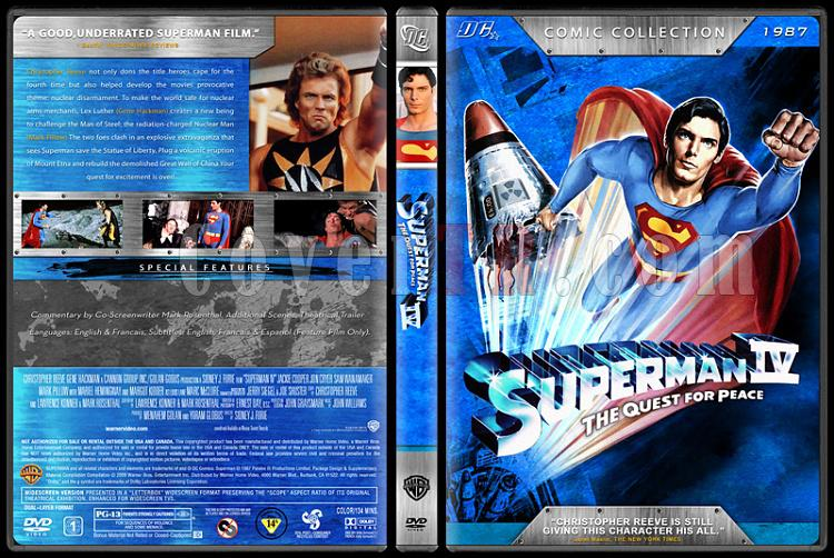 Superman Collection (Süperman Koleksiyonu) - Custom Dvd Cover Set - English [1978-2006]-5jpg
