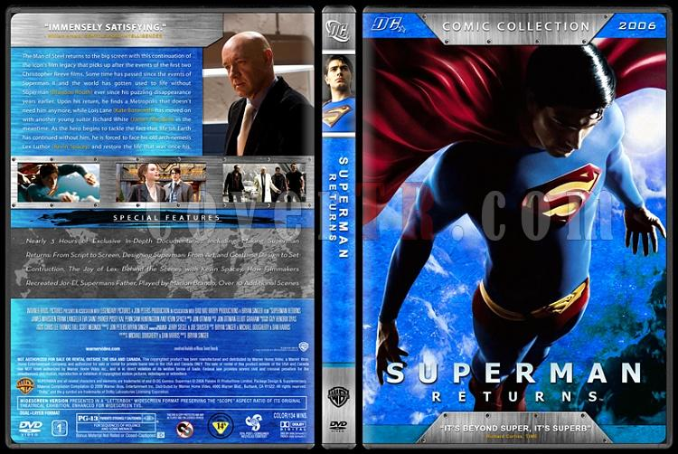 Superman Collection (Süperman Koleksiyonu) - Custom Dvd Cover Set - English [1978-2006]-6jpg