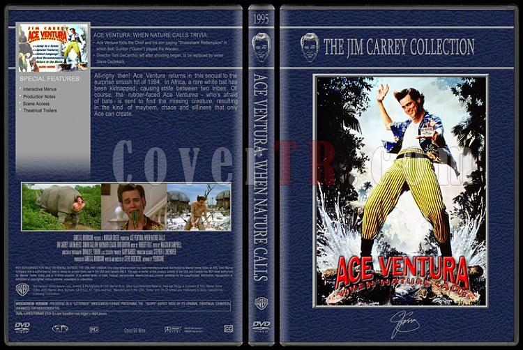 Jim Carrey Collection - Custom Dvd Cover Set - English [1994-2004]-ace-ventura-2jpg