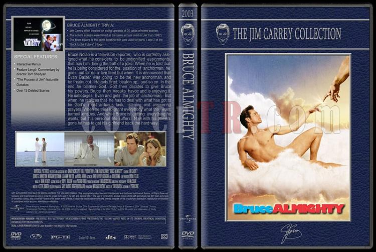 Jim Carrey Collection - Custom Dvd Cover Set - English [1994-2004]-bruce-almightyjpg