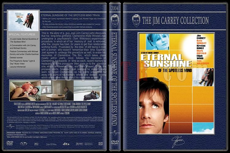 Jim Carrey Collection - Custom Dvd Cover Set - English [1994-2004]-eternal-sunshinejpg