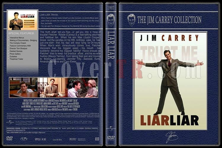 Jim Carrey Collection - Custom Dvd Cover Set - English [1994-2004]-liar-liarjpg