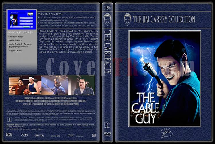 Jim Carrey Collection - Custom Dvd Cover Set - English [1994-2004]-cable-guyjpg