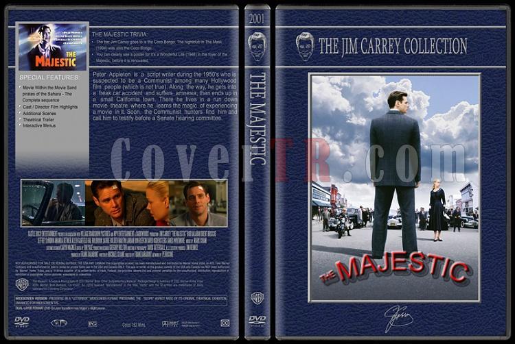 Jim Carrey Collection - Custom Dvd Cover Set - English [1994-2004]-majesticjpg