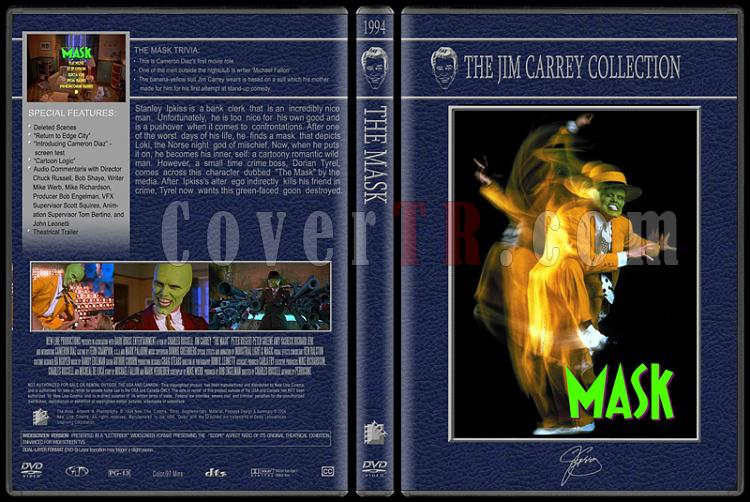 Jim Carrey Collection - Custom Dvd Cover Set - English [1994-2004]-maskjpg