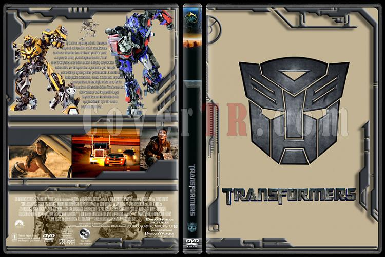 Transformers Collection - Custom Dvd Cover Set - Türkçe [2007-2009-2011]-transformersjpg