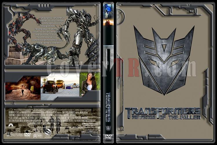 Transformers Collection - Custom Dvd Cover Set - Türkçe [2007-2009-2011]-transformers-2jpg