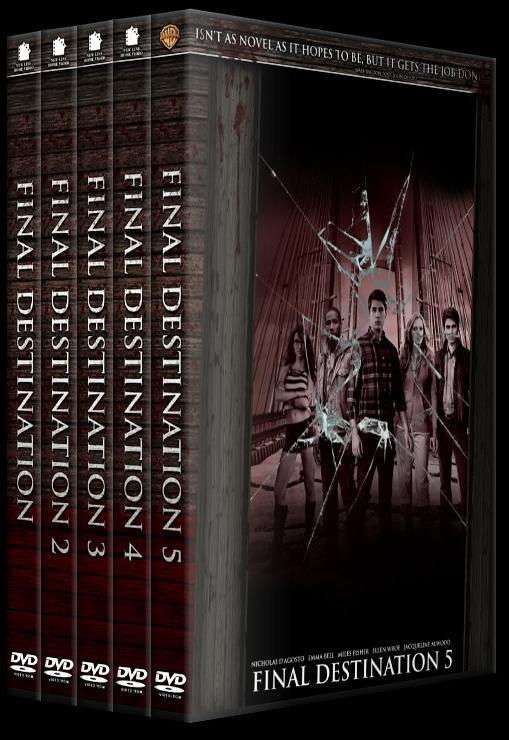 Final Destination Collection (Son Durak Koleksiyonu) - Custom Dvd Cover Set - English-hepjpg