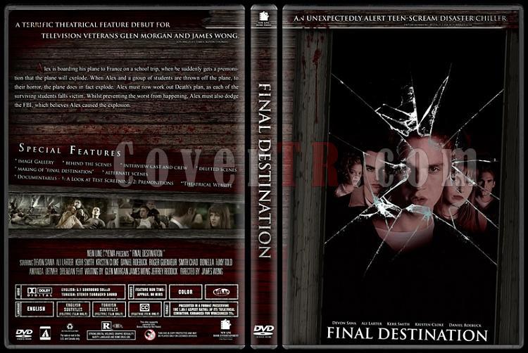 Final Destination Collection (Son Durak Koleksiyonu) - Custom Dvd Cover Set - English-1jpg